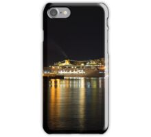 Reflecting on Malta - Cruising Out of Valletta's Grand Harbour iPhone Case/Skin