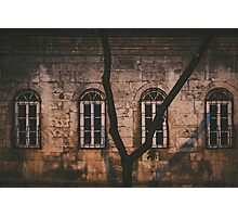 Old Building / Night Shot Photographic Print