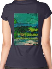 #160403 Women's Fitted Scoop T-Shirt