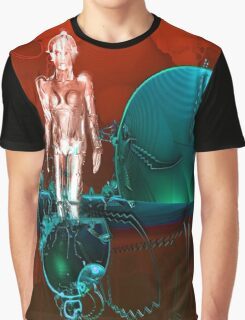 Cyborg factory Graphic T-Shirt