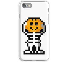 Pumpkin Head iPhone Case/Skin