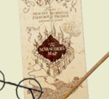 Marauders Map Sticker Sticker