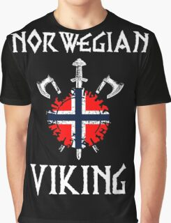 Norway - Norwegian Viking Graphic T-Shirt