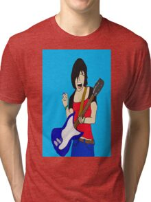 Sloan Gonson(The Thin Veiled Bride) Tri-blend T-Shirt