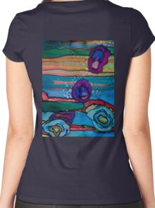 #160327 Women's Fitted Scoop T-Shirt