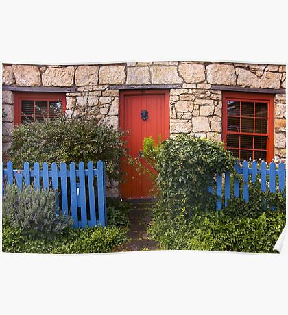 Cottage 3 Port Fairy Poster
