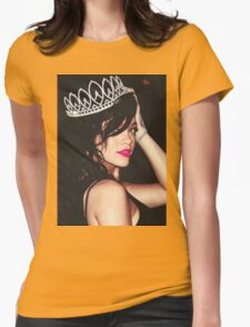 Queen Rihanna Womens Fitted T-Shirt