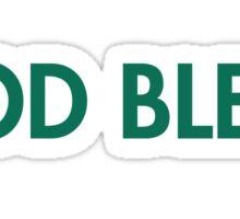 God bless -imaqtpie Sticker