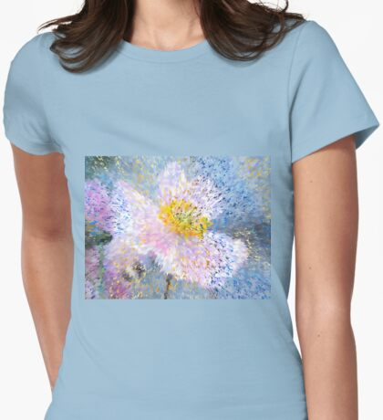 Anemone mosaic Womens Fitted T-Shirt