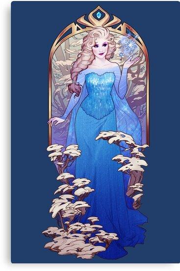 The Ice Queen by MeganLara