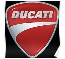 Ducati Shield Logo Poster