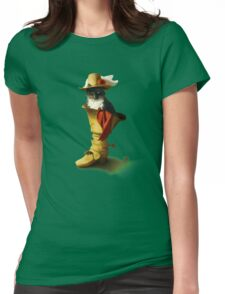 Little Puss in Boots Womens Fitted T-Shirt