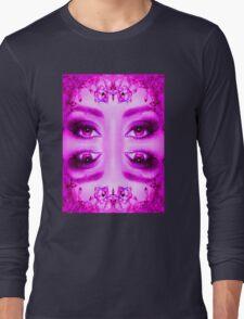 Purple Vision Long Sleeve T-Shirt