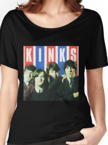 The Kinks Rock Band Women's Relaxed Fit T-Shirt