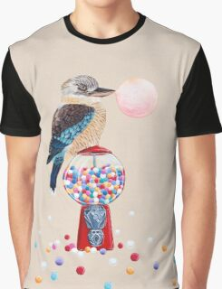 Bird gumball machine Kookaburra Graphic T-Shirt