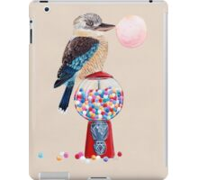 Bird gumball machine Kookaburra iPad Case/Skin