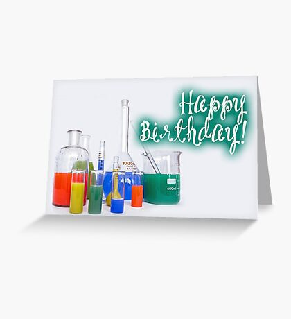 Happy Birthday - Laboratory Greeting Card