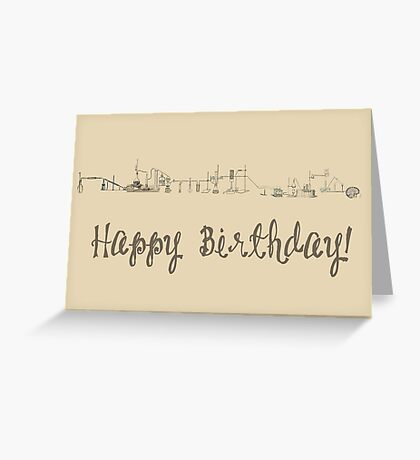 Happy Birthday - Science Greeting Card