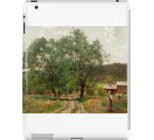 HJALMAR MUNSTERHJELM, A SUMMER DAY IN THE COUNTRYSIDE iPad Case/Skin