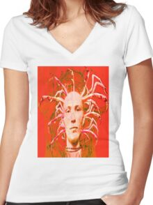 Red Scorpion Women's Fitted V-Neck T-Shirt