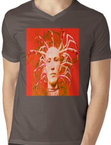 Red Scorpion Mens V-Neck T-Shirt