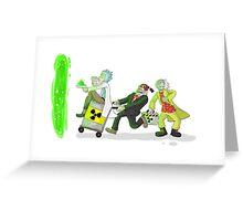 PlutoniumThieves  Greeting Card