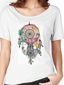 Watercolour Dreamcatcher Women's Relaxed Fit T-Shirt