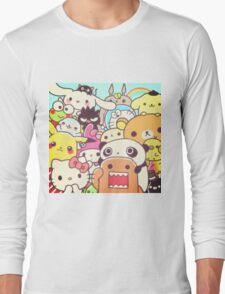 Kawaii collage  Long Sleeve T-Shirt