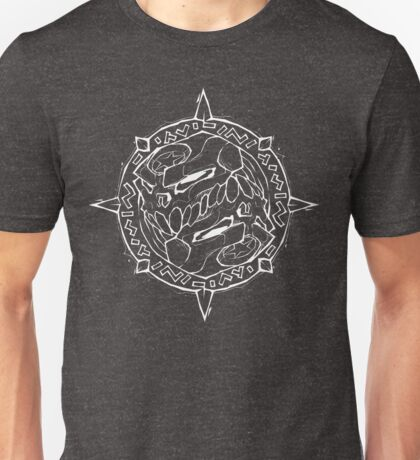 Runic Skulls Emblem Unisex T-Shirt