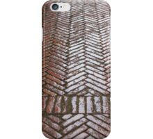 Red Brick Paving iPhone Case/Skin