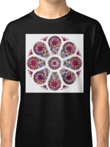 Stained Glass Mandala Classic T-Shirt