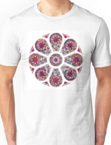 Stained Glass Mandala Unisex T-Shirt