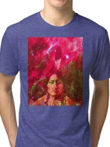 Ghost of Sitting Bull Tri-blend T-Shirt