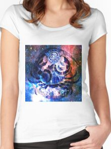 Astrology Cancer Sign Women's Fitted Scoop T-Shirt