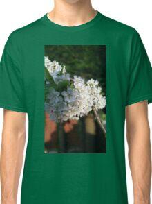 White flowers of Summer Classic T-Shirt