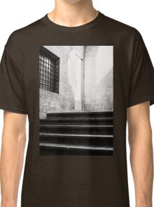 Architectural Stone Stairs Classic T-Shirt