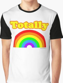 Totally Rainbow Logo Graphic T-Shirt