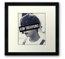 BTS: V - Kim Taehyung Framed Print