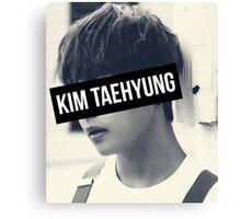 BTS: V - Kim Taehyung Canvas Print