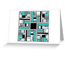 SQUARE MANIFESTATION SEVEN OF FIVE Greeting Card