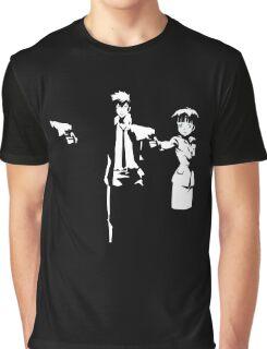 Psycho Fiction Graphic T-Shirt