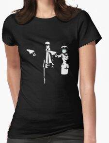 Psycho Fiction Womens Fitted T-Shirt