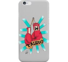 Taurus fighter iPhone Case/Skin