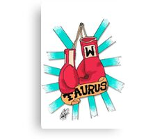 Taurus fighter Canvas Print
