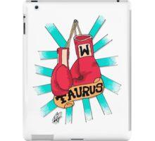 Taurus fighter iPad Case/Skin