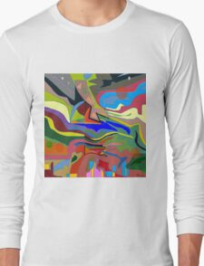 Color theory of the firmanent - accepted Long Sleeve T-Shirt