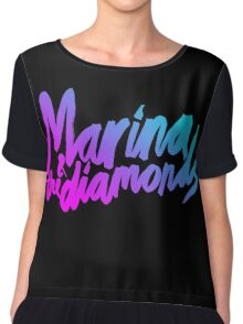 Marina and The Diamonds Chiffon Top