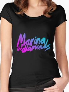 Marina and The Diamonds Women's Fitted Scoop T-Shirt