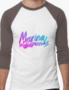 Marina and The Diamonds Men's Baseball ¾ T-Shirt