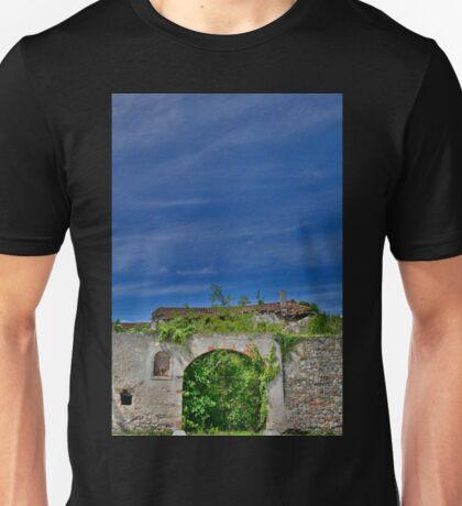 Derelict Italian Farmhouse Walls Unisex T-Shirt